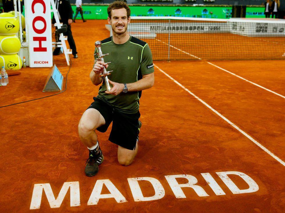 Murray câștigă primul său titlu de Masters 1000 pe zgură la Madrid