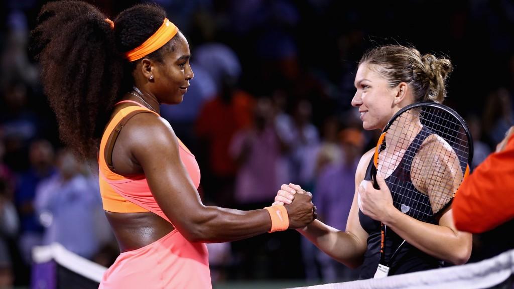 Simona Halep este învinsă de Serena Williams la Miami