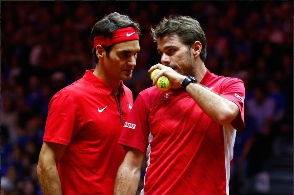 Federer Wawrinka Davis Cup 1