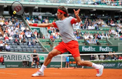 Roger Federer sezonul de zgură