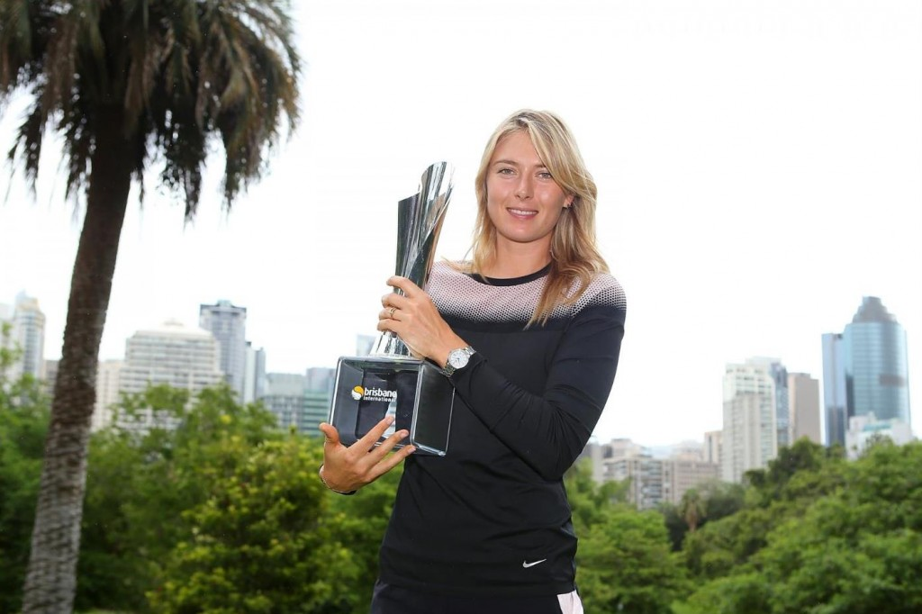 Maria Sharapova Brisbane Champion