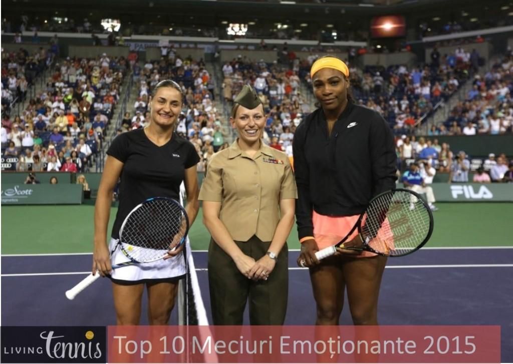 Monica Niculescu Serena Williams Indian Wells