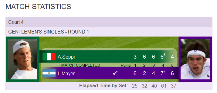 Rezultate Seppi Mayer