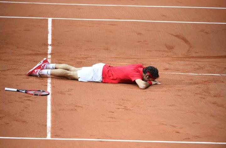 Roger Federer Davis Cup Win