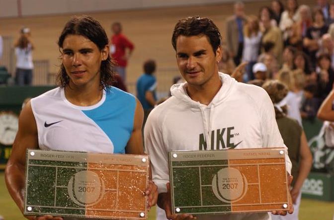 Roger Federer Rafael Nadal Battle of the Surfaces
