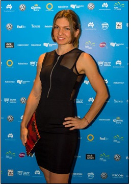Simona Halep Sydney Player Party (SMP Images)
