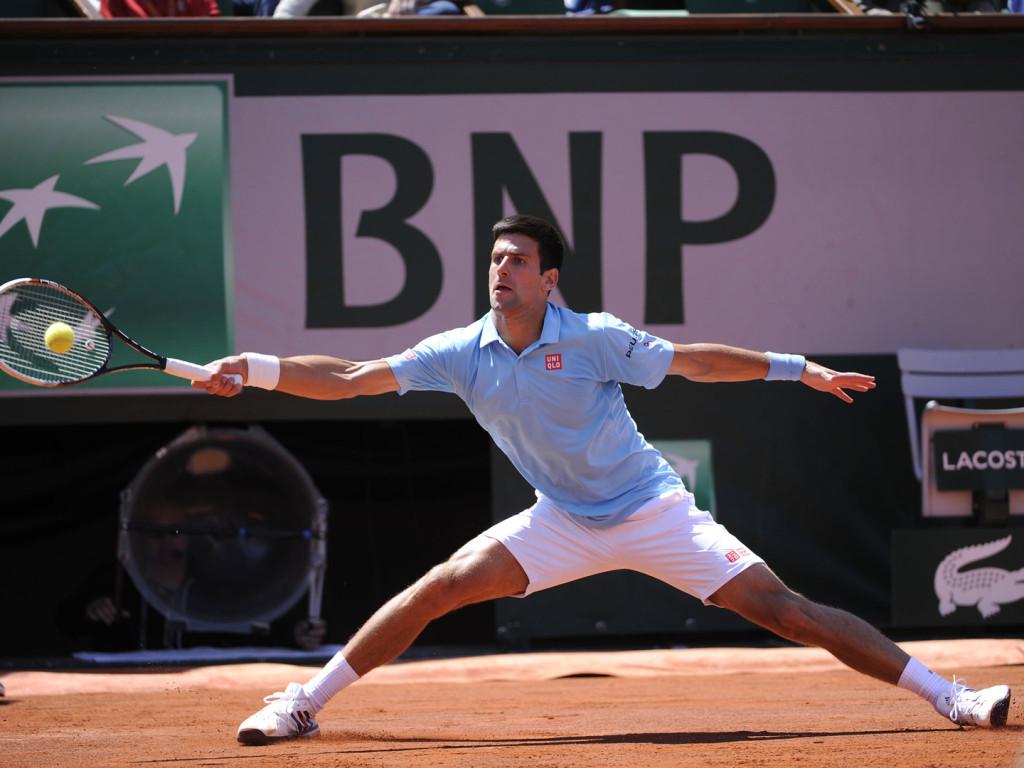 Novak Djokovic sezonul de zgură