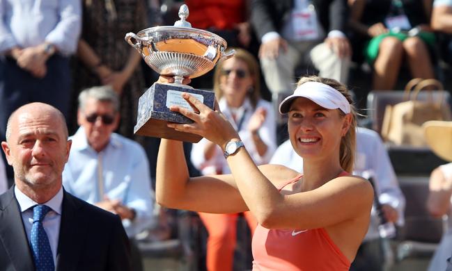 Maria Sharapova este campioană la Roma pentru a treia oară
