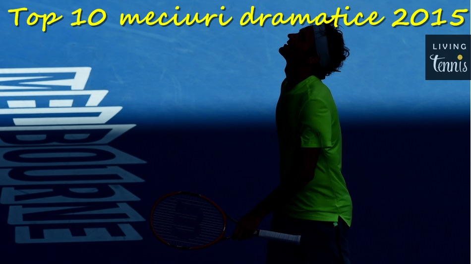 Roger Federer în timpul meciului cu Andreas Seppi de la Australian Open. Foto: ausopen.com