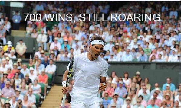 Nadal 700 (Wimbledon)