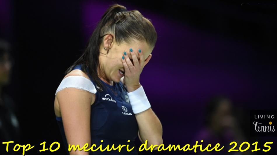 Agnieszka Radwanska învinsă de emoții după câștigarea titlului la Singapore. Foto: Getty Images