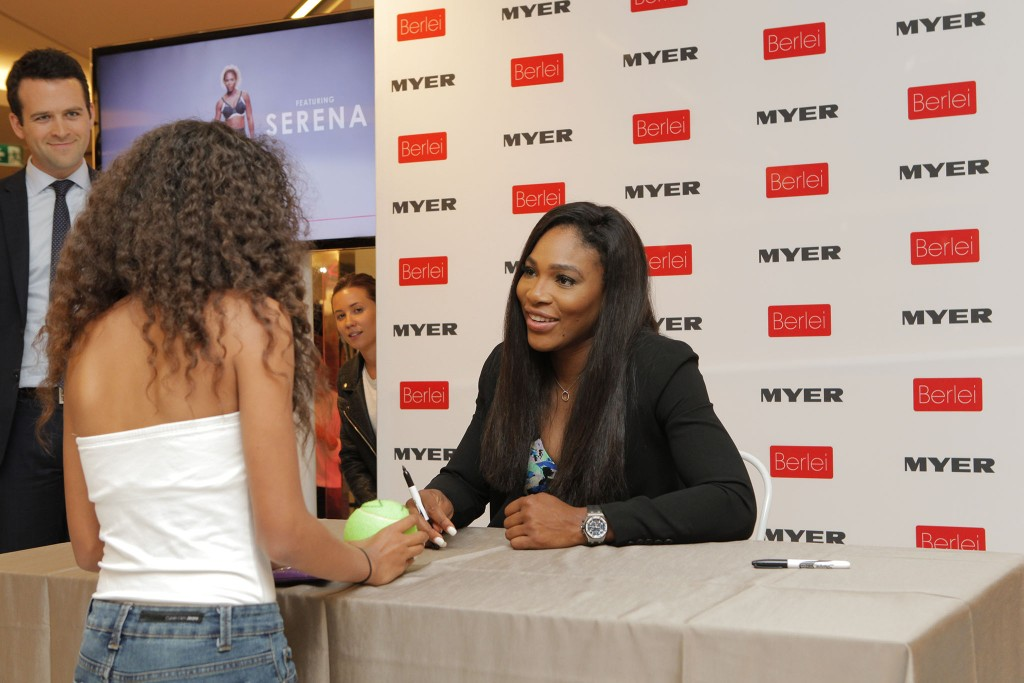 Serena Williams ahead of Australian Open 2015