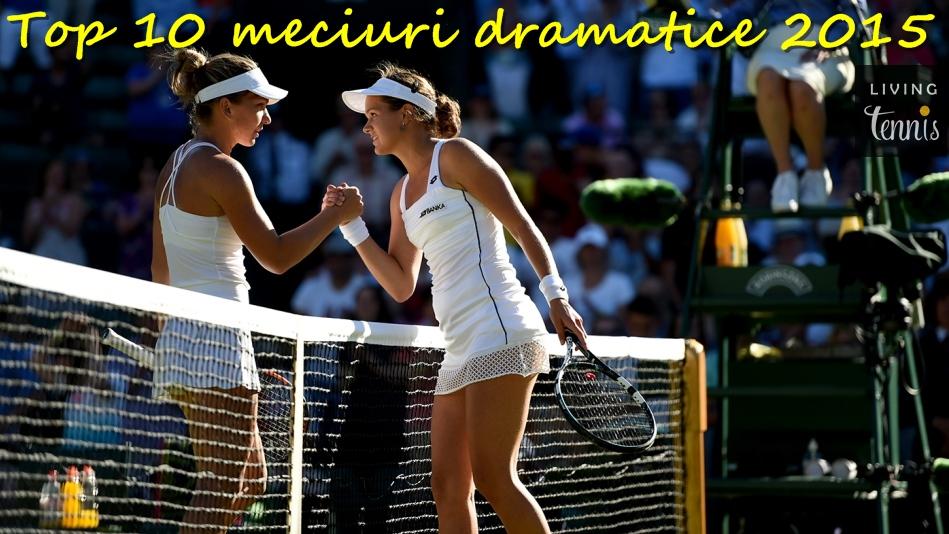 Simona Halep și Jana Cepelova la sfîrșitul meciului de la Wimbledon. Foto: AELTC