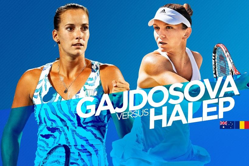 Gajdosova vs Halep Australian open 2015